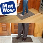Mat Wow - Set de 2 tapis super absorbant
