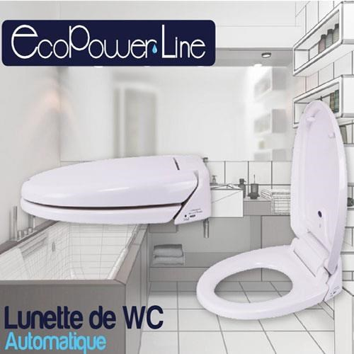 lunette de wc automatique maison et entretien confort eclairage tektvshop france. Black Bedroom Furniture Sets. Home Design Ideas