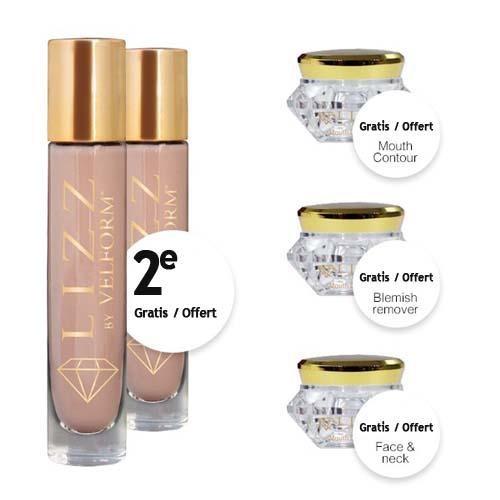 Lizz x2 + crème anti-âge + soin anti imperfection