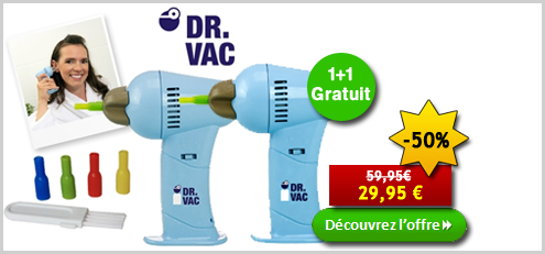 Dr. Vac 1 + 1 Gratuit