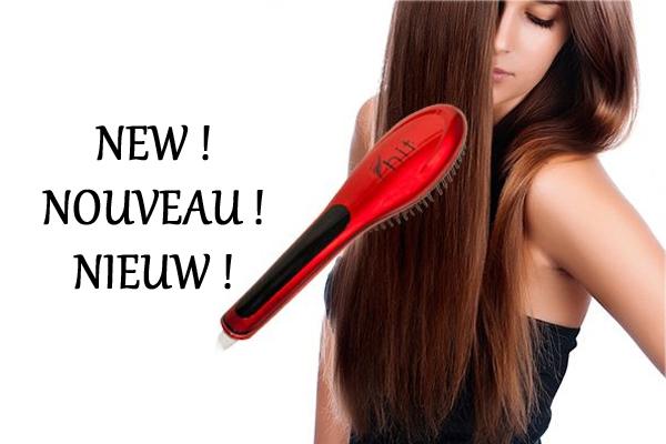 Hit Brush 3en1- Brosse Chauffante et Lissante