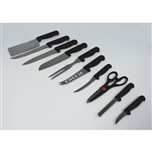10 Steel Knives Set