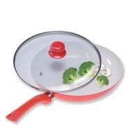 Poêle en ceramique CERAMICORE 24cm + Couvercle