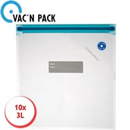 Set 10 sacs de conservation pour Vac'n Pack