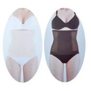 Silhouette Slimmers Black + Nude