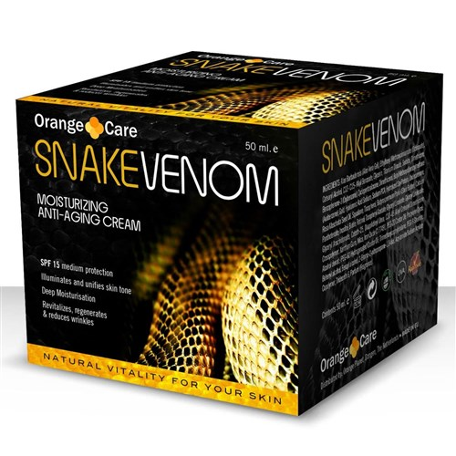 Crème anti-âge au venin de serpent