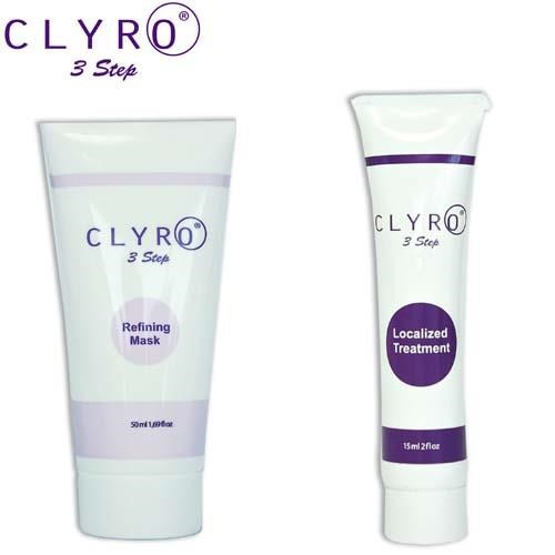Clyro + Masque Clarifiant & solution localisée