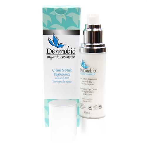 Crème de nuit Ultra-riche BIO - Dermobio