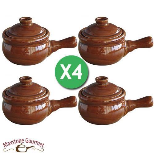 Maxstone Gourmet - Lot de 4