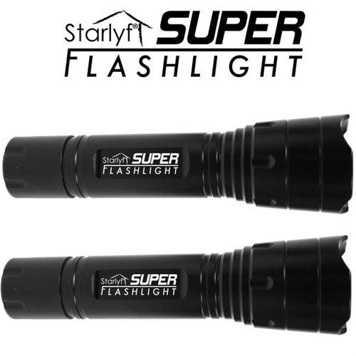 Super Flashlight Lot de 2