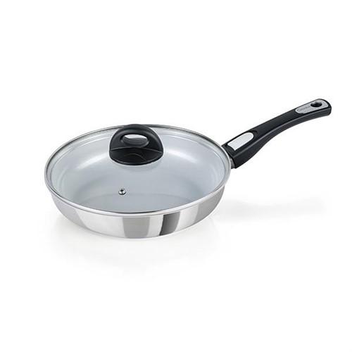 Cerafit Steel Pan + Pan Set 24 Cm