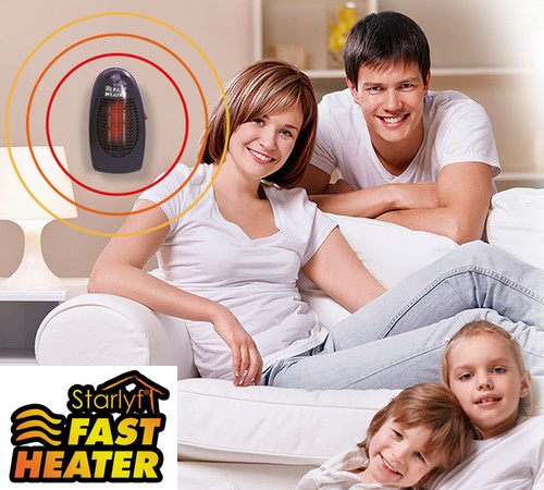 Fast Heater 1+1, le chauffage d'appoint!